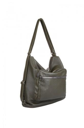 Khaki Shoulder Bag 411-419