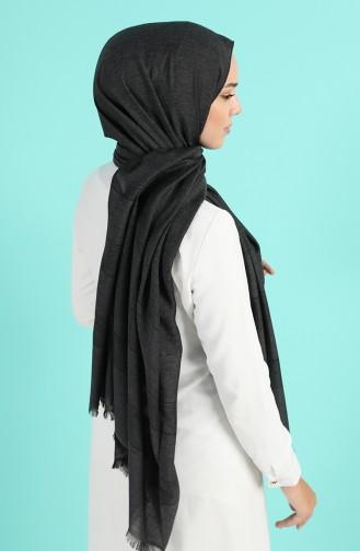 شال أسود 13187-01