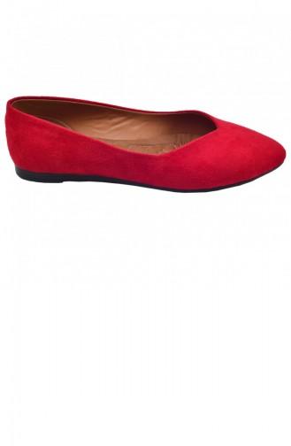 Ballerine Pour Femme Rouge 19YAYAYK0000021_KR