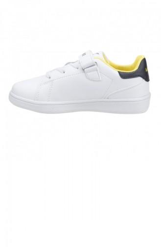 Kinetix Plain Fb Taraftar Erkek Çocuk Spor Ayakkabı Beyaz