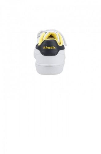 Kinetix Plain Fb Taraftar Erkek Çocuk Spor Ayakkabı Beyaz 19KAYKIN0000004_A