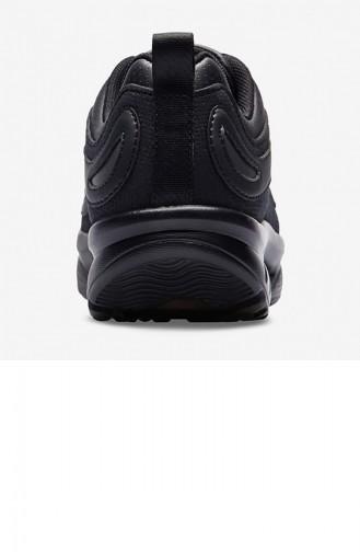 أحذية رياضية أسود 19NAU00ESWAU_SIYAH
