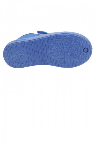 Saks-Blau Hausschuhe für Kinder 19KAYSAN0000005_SAK