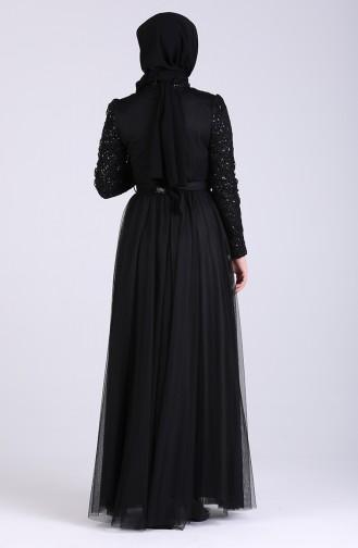 Habillé Hijab Noir 5357-04