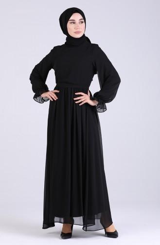 فستان أسود 5134-05
