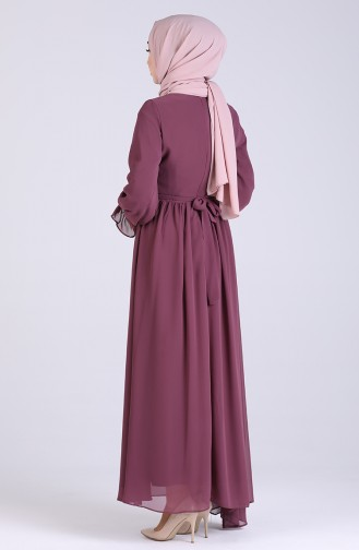 Lila Hijap Kleider 5134-06