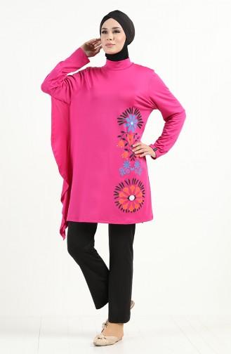 Rosa Hijab Badeanzug 2018
