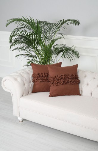 Light Brown Pillow 15-BFR-AK