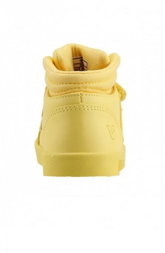 Vicco 313B19K104 Lucky Işıklı Kızerkek Çocuk Spor Bot Ayakkabı Sarı 19KAYVİC0000003_SA
