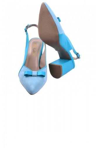 أحذية الكعب العالي أخضر مائي 20YSANAYK000013_SUYESILI