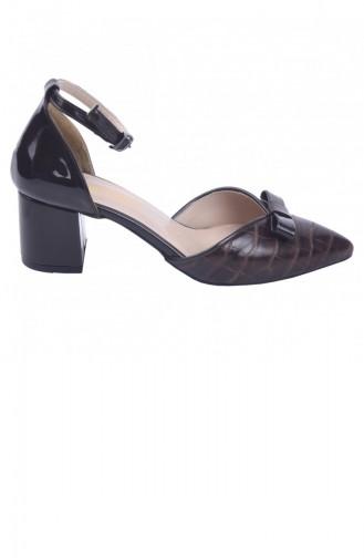 Chaussures a Talons Couleur Brun 20YSANAYK000010_KA
