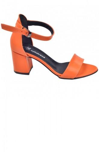 Chaussures a Talons Orange 20YSANAYKA00008_TU