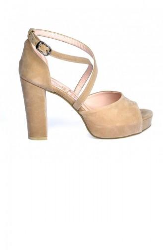Yellow High-Heel Shoes 20YTPKAYK000015_TE