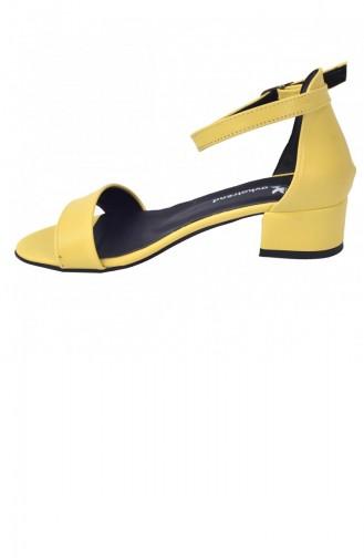 Chaussures a Talons Jaune 20YSANAYKA00016_SA
