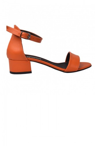 Chaussures a Talons Orange 20YSANAYKA00016_TU