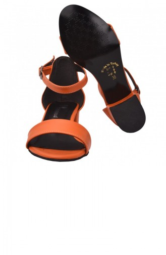 Orange High Heels 20YSANAYKA00016_TU