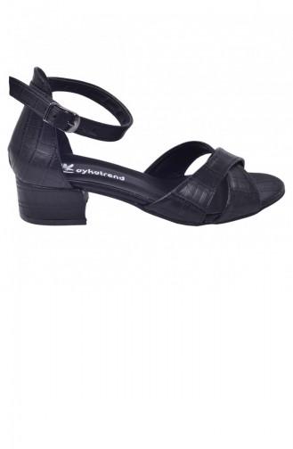 أحذية الكعب العالي أسود 20YSANAYKA00019_B