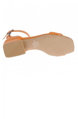 Chaussures a Talons Orange 20YTPKAYK000018_TU