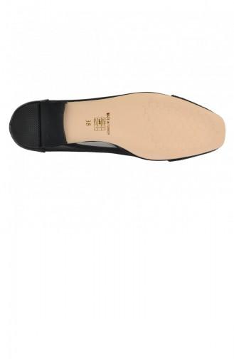 Ayakland Elf 352 Bayan Abiye Babet Ayakkabı Siyah