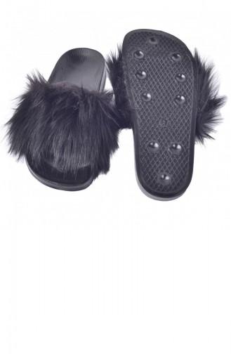 الأحذية منزل أسود 20YTERAYK000001_B