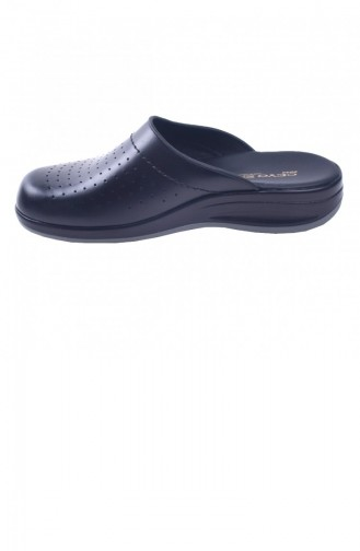 Black Summer Slippers 20YTERCeyo00029_B