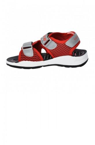 Pantoufles & Sandales Pour Enfants Rouge 20YSANGEZ000001_KR