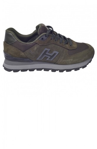 Chaussures de Sport Khaki 20YSPORHAM00004_F