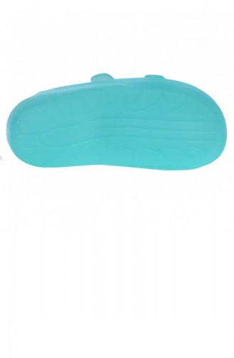 Turquoise Kid s Slippers & Sandals 20YDENIG0000001_034