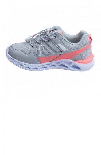 Gray Children`s Shoes 424742121_JE9
