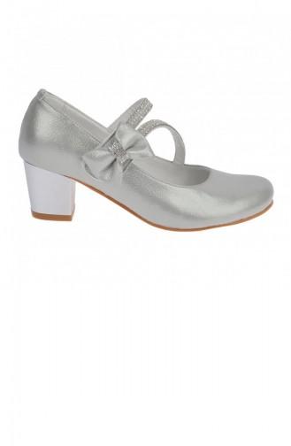 Chaussures Enfant Gris argenté 20YBABKIK000009_Gu