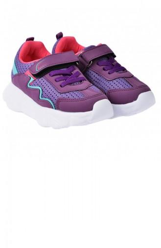 Chaussures Enfant Pourpre 20YSPORKIK00018_MO