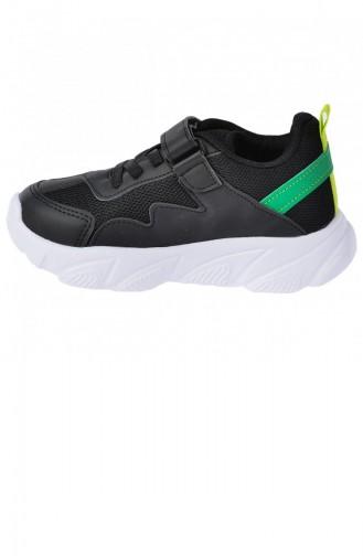 أحذية الأطفال أسود 20YSPORKIK00018_SYE