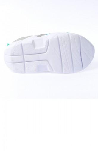Kiko S19 Günlük Fileli Cırtlı Kızerkek Çocuk Spor Ayakkabı Buz