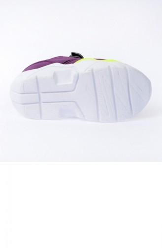 أحذية الأطفال أرجواني 20YSPORKIK00009_MO