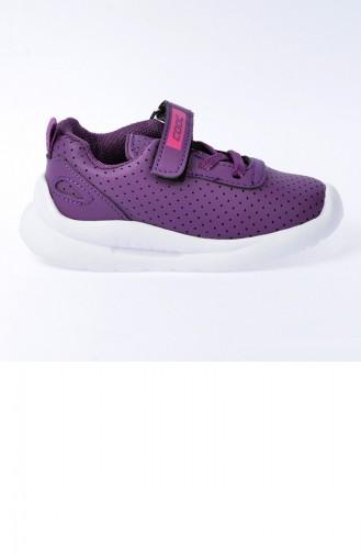 Chaussures Enfant Pourpre 20YSPORKIK00006_MO
