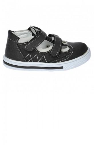 Kiko Şb 223743 Orto Pedik Erkek Çocuk Bebe Ayakkabı Sandalet Gri Beyaz 20YSANSIR000026_2240