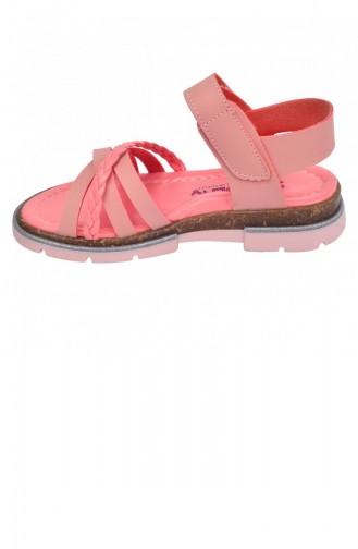Salmon Kid s Slippers & Sandals 20YSANSIR000014_2471