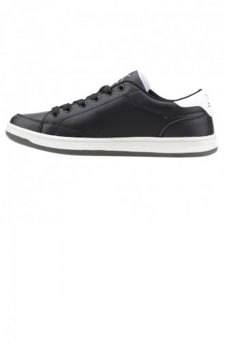 Kinetix Herbert Plus Günlük Yürüyüş Koşu Bayan Spor Ayakkabı Siyah Beyaz