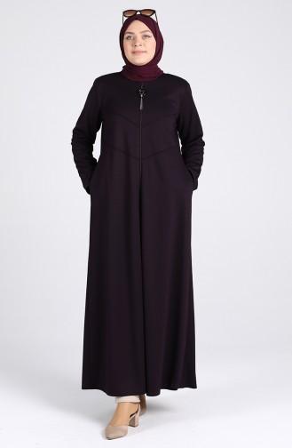 Purple Abaya 0116-04