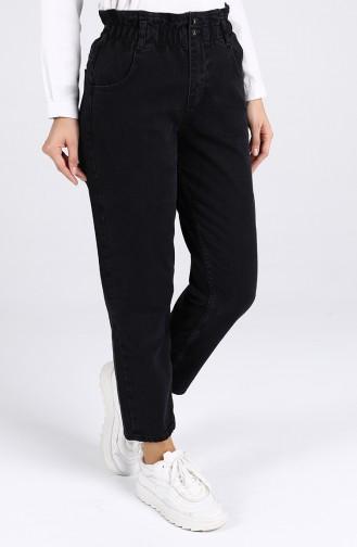 Cepli Kot Pantolon 7508-03 Siyah 7508-03