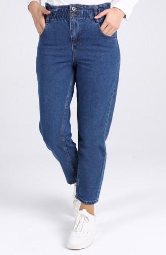 بنطال أزرق جينز 7508-04