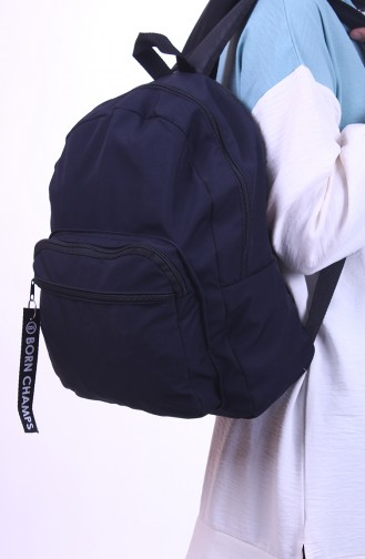 حقيبة ظهر أزرق كحلي 0041-02