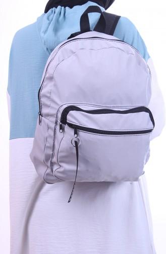 حقيبة ظهر رمادي 0041-03