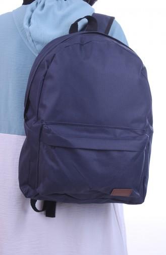 حقيبة ظهر أزرق كحلي 0042-02