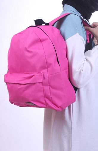 حقيبة ظهر فوشيا 0042-07