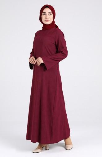 Robe Hijab Bordeaux 1412-02
