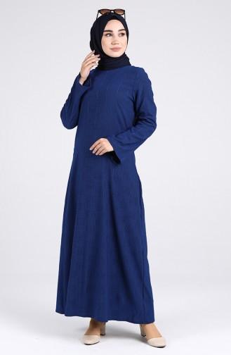 Blue İslamitische Jurk 1412-05