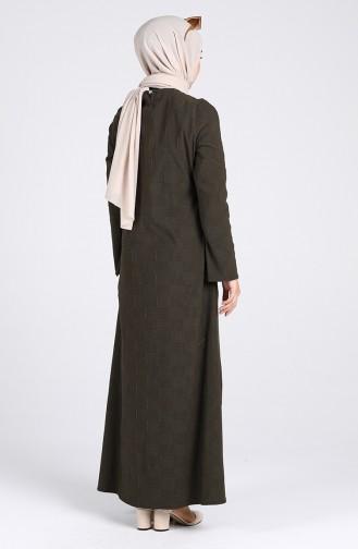 Robe Hijab Khaki 1412-06