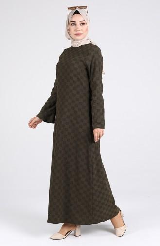 Robe Hijab Khaki 1413-01