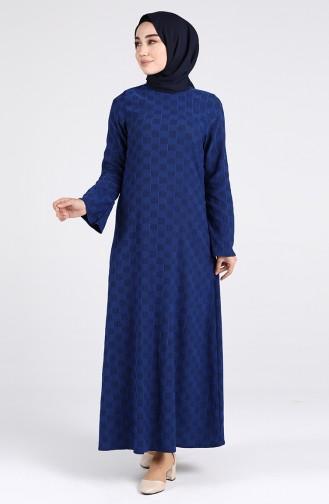 Blue İslamitische Jurk 1413-04